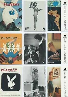 Playboy 40th Anniversary - April Edition - Complete Card Set (129) - 1995 - NM
