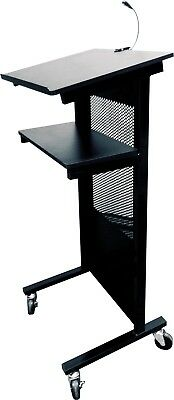 Black Lectern Professional Style