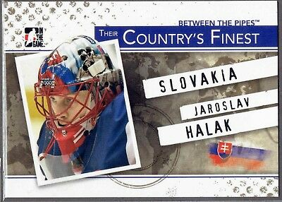 2010-11 ITG Between The Pipes Their Country's Finest #CF-07 Jaroslav HALAK