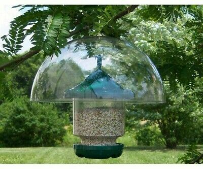 SQUIRREL DEFENDER FOR BIRD FEEDERS - 12 inch Hanging Baffle ( DOMEONLY) - SESQ83