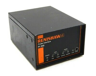 Renishaw CMM PI200 Probe Controller v.11  Electronic Interface Metrology Tested