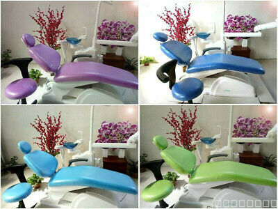 1 Set 6 Optional Colors Dental PU Headrest  Chair Cover New Protector Sleeves