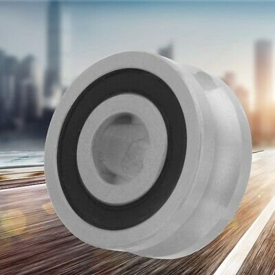 Grooved Double Roller Guide Deep Groove ball Bearing LFR5201-10 12*35*15.9mm