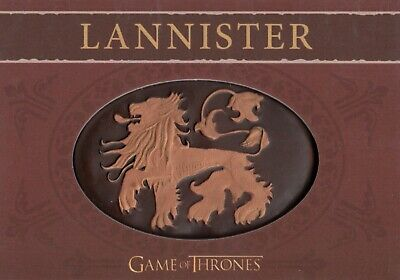 Game of Thrones Season 4, House Lannister Shield/Pin Card H5 #169/300