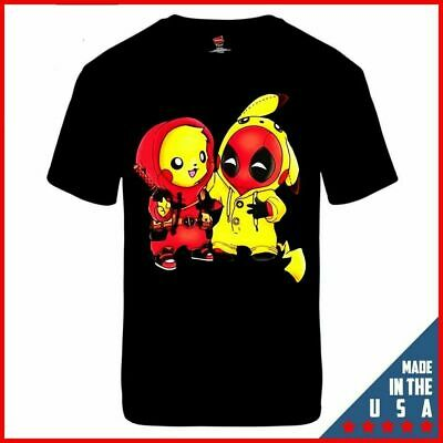 a5c3be2a FUNNY PIKAPOOL PIKACHU Deadpool Movie Poster Cool Ideal Gift Fashion ...