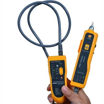 Network LAN Ethernet Telephone Cable Toner Wire Tracker Tracking System Tester