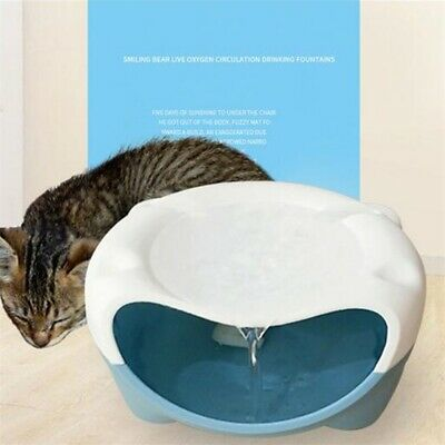 Automatic USB Electric Pet Water Fountain Dog Cat Drink Bowl Water Dispenser Pop