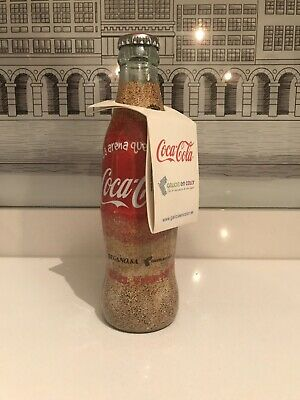 Commemorative PRESTIGE. Wrapper Bottle. Rare Coca Cola Bottle