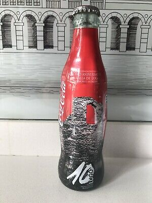 Muralla De Lugo. Wrapper Bottle. Rare Coca Cola Bottle