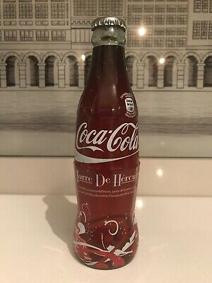 Torre De Hercules.  Wrapper Bottle. Rare Coca Cola Bottle