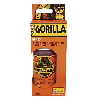 GORILLA GLUE ORIGINAL 115ML| Incredibly Strong Adhesive | Industry Trusted Tough