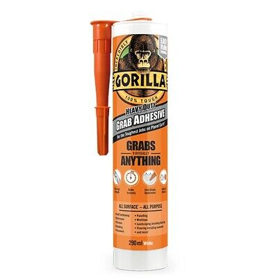GORILLA HEAVY DUTY GRAB ADHESIVE 290G | Grabs Anything With Ultra-High Strength