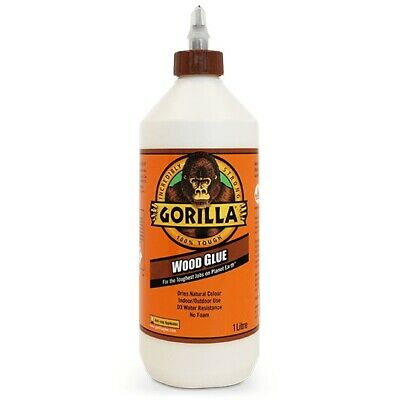 GORILLA WOOD GLUE 1L | The Hard-Working Water Resistant Industry Trusted Glue