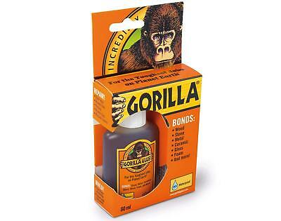 GORILLA GLUE ORIGINAL 60ML | Incredibly Strong Adhesive | Industry Trusted Tough