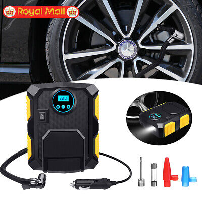 Portable 12V Digital Electric Car Tyre Inflator Tire Air Compressor Pump 150PSI