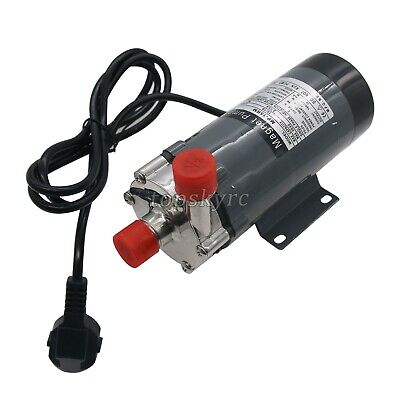 304 Stainless Head Magnetic Drive Pump 15R Food Grade High Temperature Pump tpEU