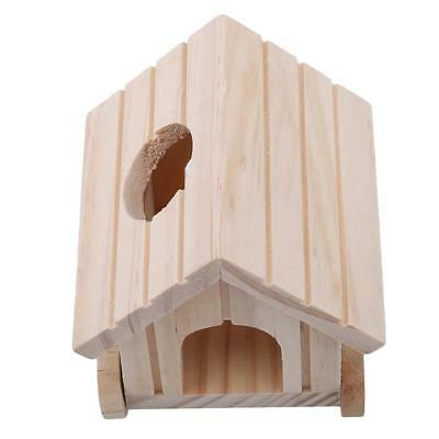 Wooden House for Cage Rodent Small Animal Hamster Rat Mice Ferret Gerbil LA