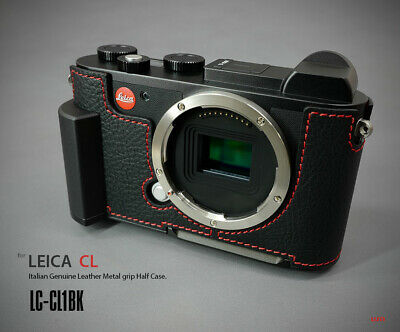 Lim's Design Lims Genuine Italy Leather Case for Leica CL Black