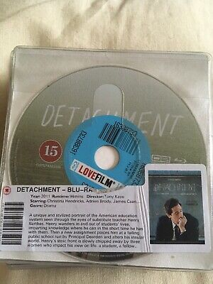 Detachment - UK Blu ray ####Disc Only #####