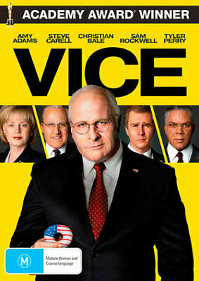 Vice (DVD, 2019) (Region 4) New Release