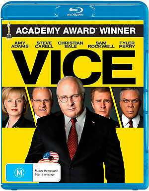 Vice (Blu-ray, 2019) (Region B) New Release