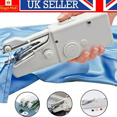 Mini Portable Electric Handheld Cordless Sewing Machine Hand Stitch Home Clothes