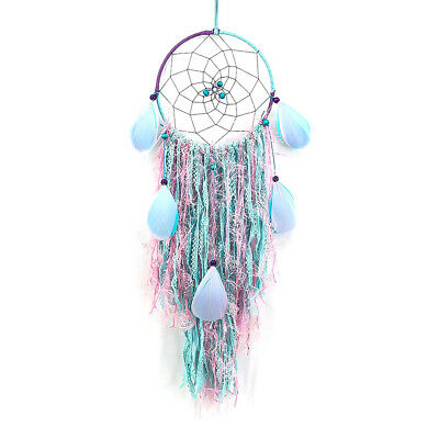 Creative Vibe Style Dream Catcher Rope With Feathers Hand Made Decoration Wall