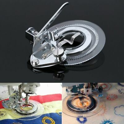 Multifunctional Flower Stitch Circle Embroidery Presser Foot Sewing Machine DIY