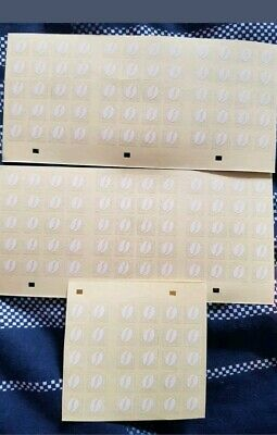 150 McDonalds coffee vouchers stickers only (25 cups)