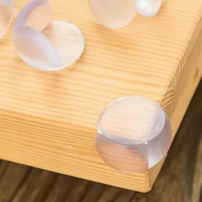 10X Clear Bumper Desk Corner Protector Table Edge Cushion Silicone Baby Safety