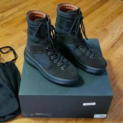f5163201e Kanye West Yeezy Season 3 Men s Military Boot Onyx Shade Size US 7   EU 40
