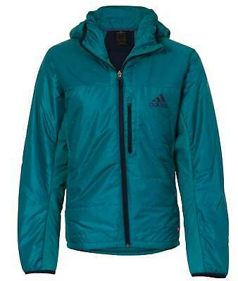 ADIDAS MENS TEAL Blue Terrex Swift Hooded Jacket Size 4244