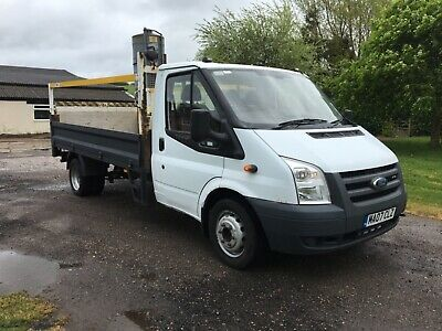Ford transit Dropside with tail lift lwb
