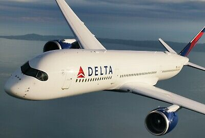 $100 Delta Air Lines Gift Card Certificate - FREE S/H 1st Class Mail Delivery!