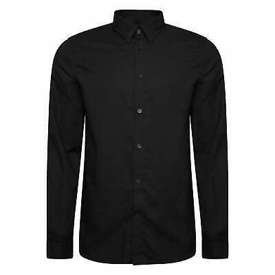 Fred Perry Mens Button Down Shirt (Black)