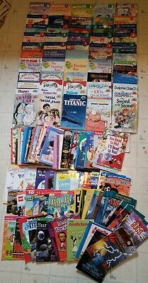10 RANDOM Lot Books Level Readers Early Readers Step into Reading I can Read +