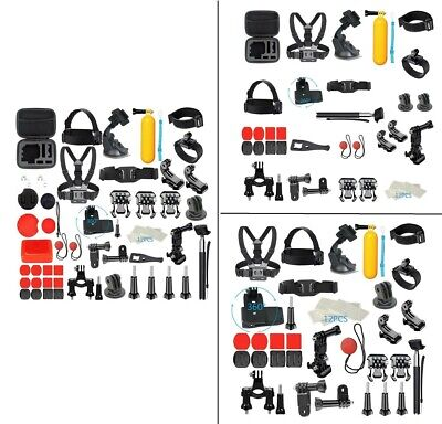 Outdoor Sports Camera Set Kit For GoPro Accessories Hero7/6/5/4/3 58-in-1 Bundle