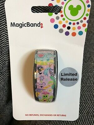 NEW Disney Parks 2019 It's A Small World Magic Band Sealed Unlinked Pink