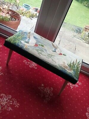 Tapestry  Foot Stool , foot rest