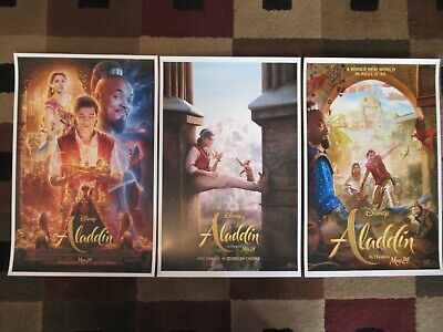 "Aladdin (11"" x 17"") Movie Collector's Poster Prints ( Set of 3 )"