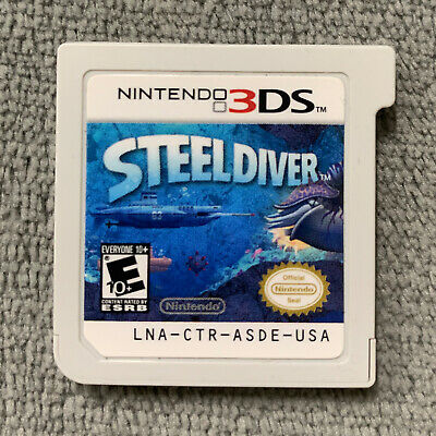 Steel Diver for Nintendo 3DS, 2DS Original USA 2011 [Game Cartridge Only]