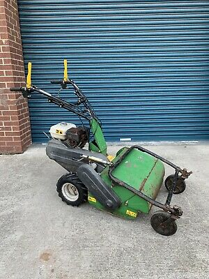 OUTFRONT FLAIL MOWER with Honda GX200 Engine Walk Behind Pedestrian Lawn  Petrol