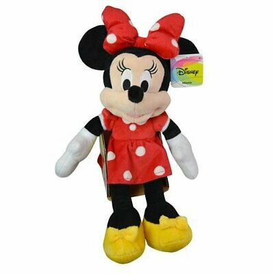 """Plush - Disney - Minnie Mouse - 18"""" Red Soft Doll Toys New 105814"""