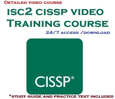ISC2 CISSP 8 domains detailed video course and training