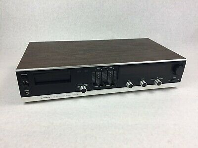 Vintage Lafayette SQR-40  8 Track Stereo Receiver   Tested & Works