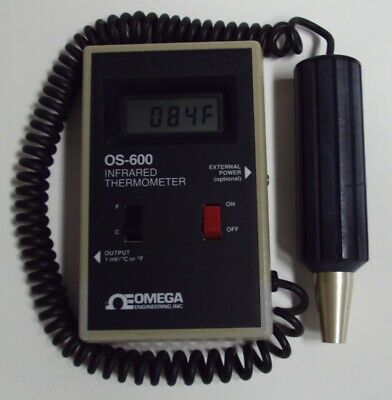 Omega OS-600 Infrared Pyrometer Thermometer, 0-500F / 0-260C
