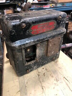 Antique OC Wico Magneto Hit Miss Oil Field Engine With Bracket