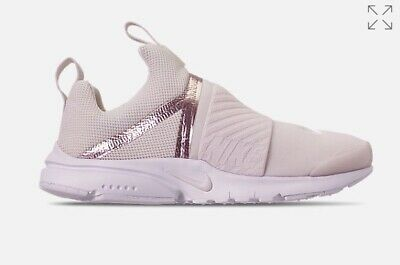 34f2aa24f5131 GIRLS LITTLE KIDS Nike Presto Extreme SE Casual Shoes Size 3 Y Phantom  Metallic