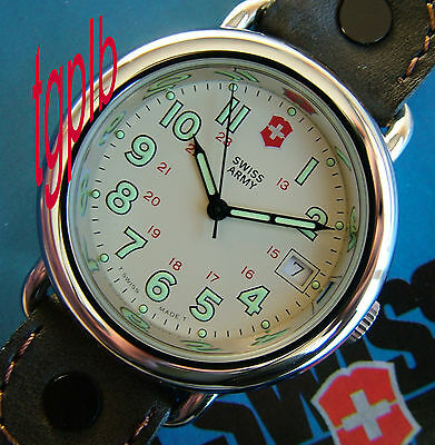 SWISS ARMY Watch~Men NOS CAVALRY~RaRe Marlboro~MINT~LIMITED Supply~GET YOURS NOW