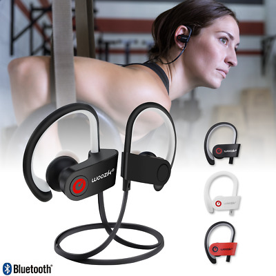 POM SPORTS PREMIUM Secure Fit Wireless Earbuds With Mic